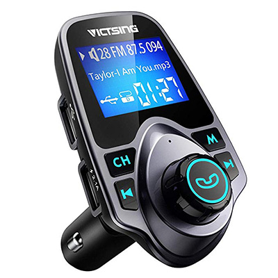 4. VicTsing Bluetooth Transmitter for Car