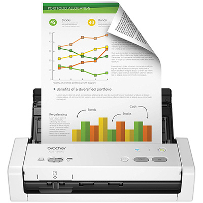 4. Brother Portable Desktop Scanner