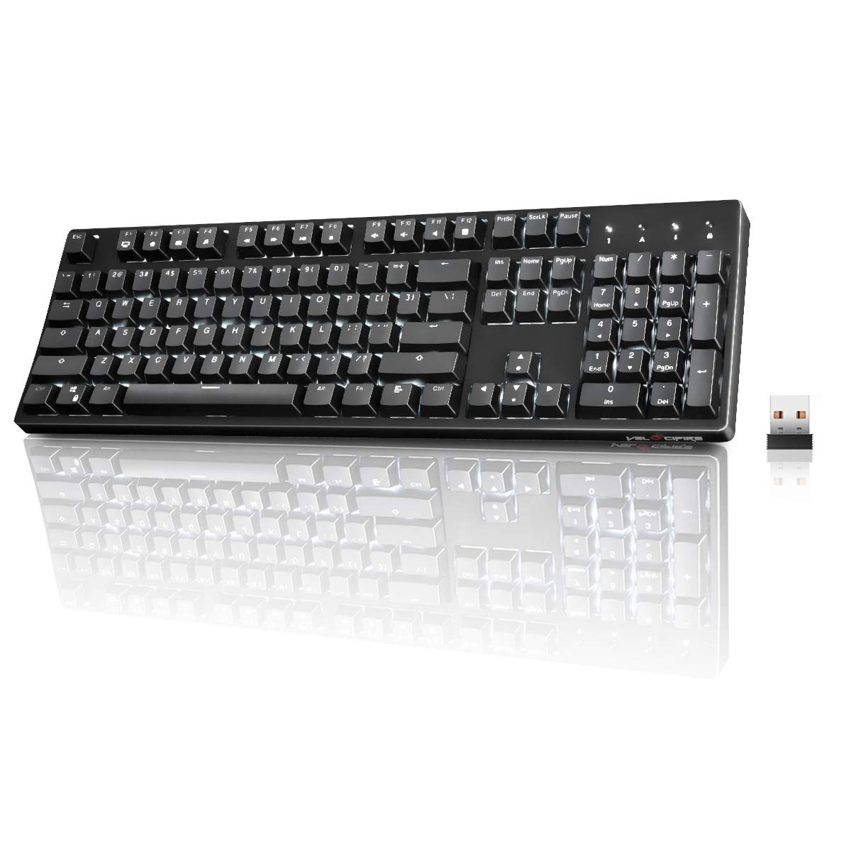 2. Hcman Mechanical Gaming Keyboard