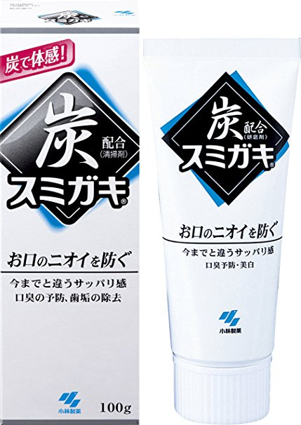 8. SUMIGAKI JAPANESE CHARCOAL TOOTHPASTE