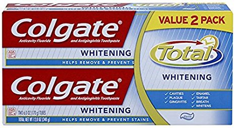 1. Colgate Total Whitening Toothpaste Review