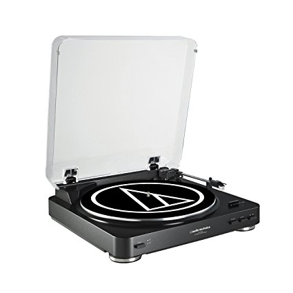 Audio Technical AT-LP60BK Fully Automatic Belt-Drive Stereo Turntable Review