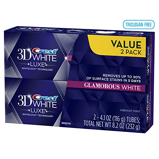 5. Crest 3d White Luxe Glamorous White Toothpaste Reviews