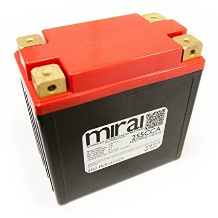 Mirai Ultra Lightweight Lithium Motorcycle Battery Review