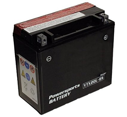 YTX20L-BS 20L-BS Powersports Battery Maintenance Free Review