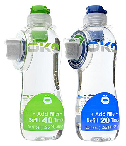 5. OKO H2O Pure Everyday Water Bottle