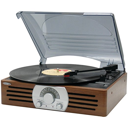 Jensen JTA-222 3-Speed Turntable Review