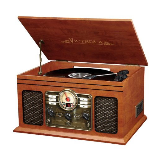 Victrola VTA-200B Nostalgic Classic 6-In-1 Turntable with Bluetooth Review