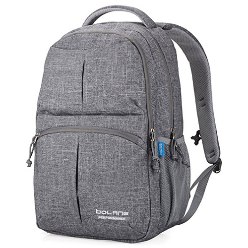 10. Bolang Water Resistant Nylon School Bag College Laptop Backpack 8459