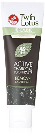 2. Twin Lotus Active Charcoal Toothpaste Review