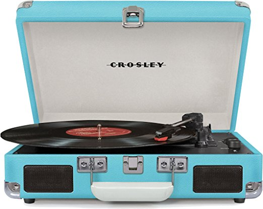 Crosley CR8005D-TU Cruiser Deluxe Portable 3-Speed Turntable Review