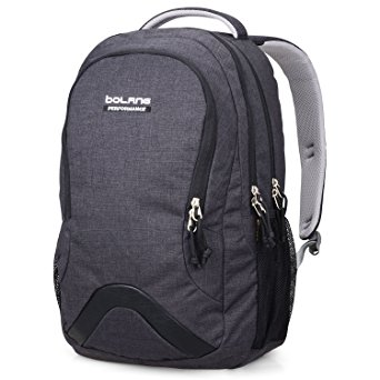 7. Bolang 8474 Water Resistant Nylon Backpack School College Laptop Bag
