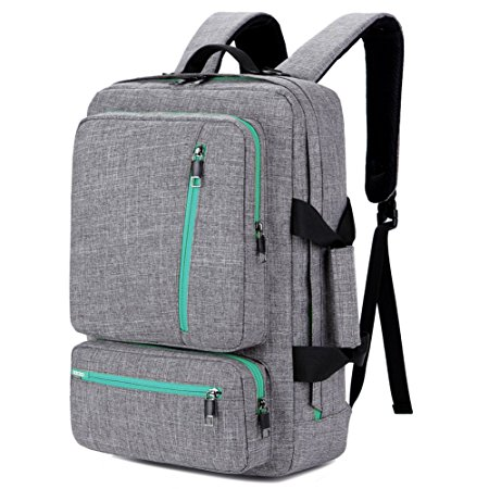 4. SOCKO 17 Inch Laptop Backpack with Side Handle and Shoulder Strap