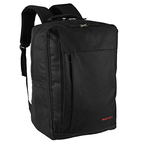 1. Laptop Backpack, SANYAK - Business, Students & School Shoulder Backpack