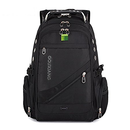 6. Laptops Backpack- GOUXIANG Water Resistant Computer Bag with Multipfunction Sports Gym Bag