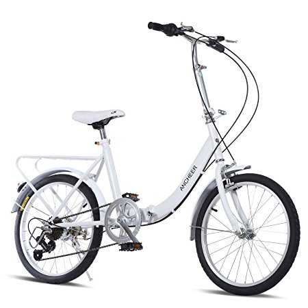 Ancheer Folding Bike 7 Speed Review