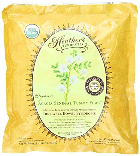 8. Heather's Tummy Care Fiber Organic Acacia Senegal