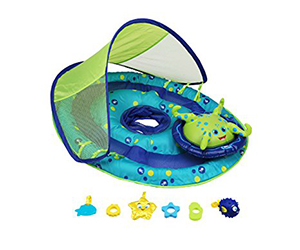 1. SwimWays Baby Float Activity Center Review (Octopus)