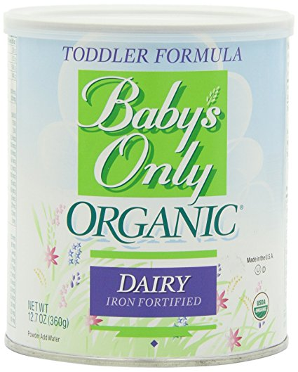 7. Baby's Only Organic Toddler Formula, 12.7 Ounce (Pack of 6)