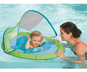 3. SwimWays Baby Float Sun Canopy Review