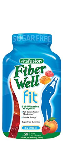 3. Vitafusion 90 Count Fiber Well Fit Gummies