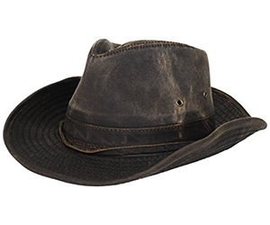 8. Dorfman Pacific Outback Hat with Chin Cord Review