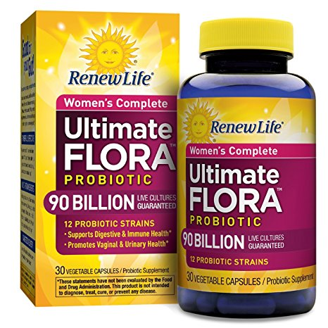 10. Renew Life Ultimate Flora Women's Probiotics