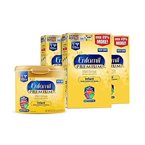 10. Enfamil Infant Baby Formula - 121.8oz Powder Combo Pack