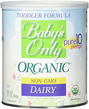 5. Baby's Only Organic Dairy Formula, 12.7 oz. (Packaging May Vary
