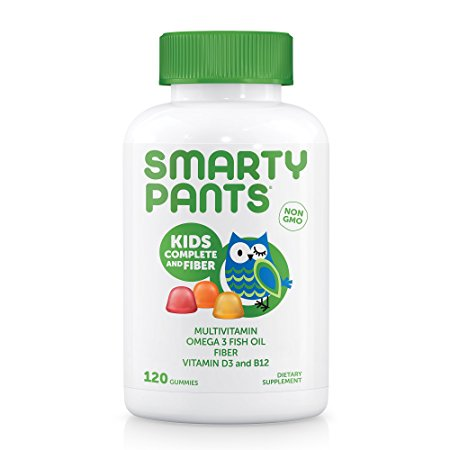 1. SmartyPants Gummy Vitamins Kids Complete and Fiber