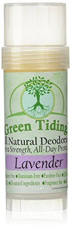 10. Green Tidings Lavender Organic All Natural Deodorant