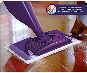 6. Swiffer WetJet Floor Spray Mop Review