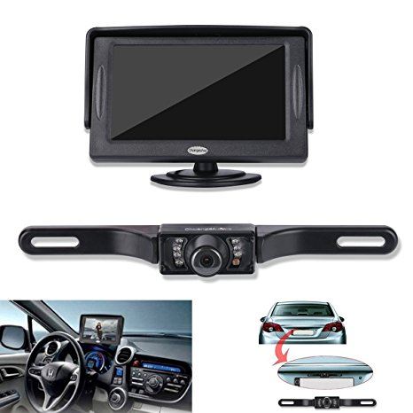 Chuanganzhuo Backup Camera and Monitor Kit Review