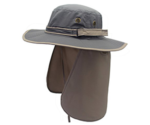 9. Home Prefer Unisex Sun Hat with Flap Neck Cover Review
