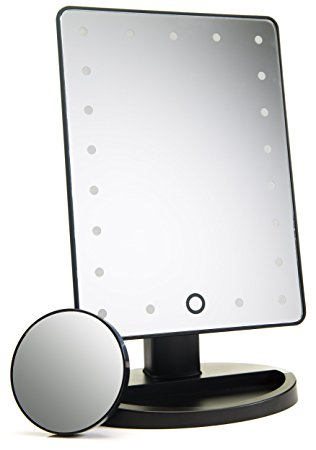 3. Absolutely Lush Lighted Vanity Mirror