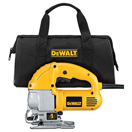DEWALT DW317K Top Handle Jig Saw Kit Review