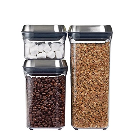 OXO Airtight POP Container Set (3-Piece) Review