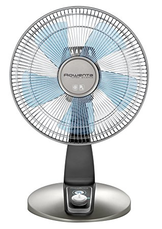 Rowenta VU2531 Turbo Silence Oscillating 12-Inch Table Fan Powerful Review