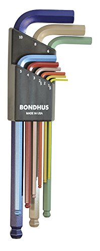 Bondhus 69499 Ball End L Wrench Set with Color Guard Finish Review