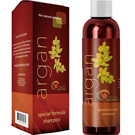 9. Argan Oil Shampoo Review