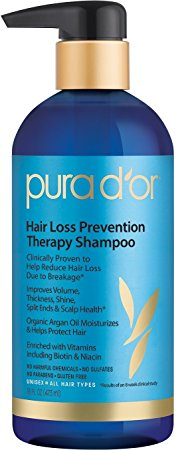 6. PURA D'OR Therapy Shampoo Review