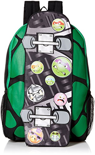 Teenage Mutant Ninja Turtles Boys' Skateboard 17 Inch Backpack Review