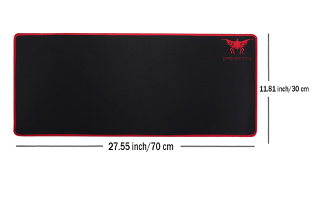 3. Combaterwing Gaming Mouse Pad, Extended Anti-slip Rubber Base Review