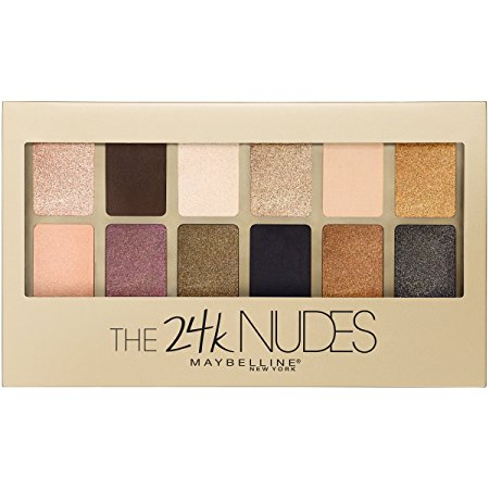 4. Maybelline New York The 24K Nudes Eyeshadow Palette