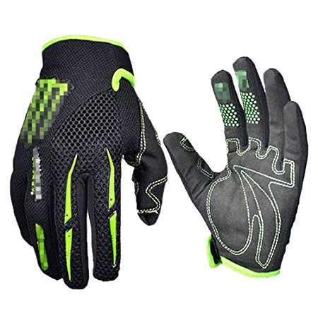 Warmsport Black Green Gloves Cycling Gloves Review