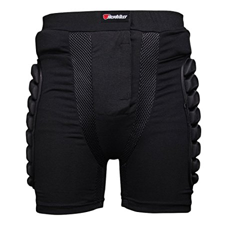 Luckycyc Lightweight Breathable EVA Armor Shorts Review