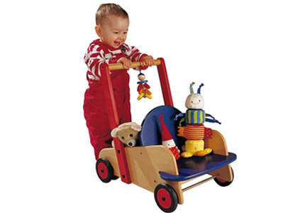HABA Wooden Push Walker Review