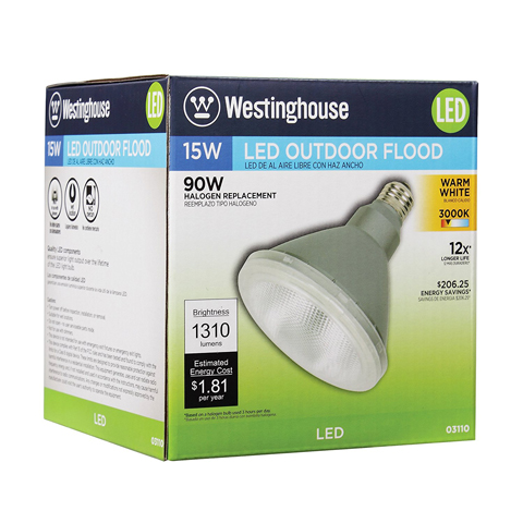 Top 6 best outdoor led flood light bulbs in 2018 top6pro westinghouse 15 watt outdoor led flood light bulb review aloadofball Gallery