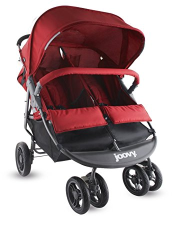 Joovy Red Double Stroller Review (Scooter X2 Double)