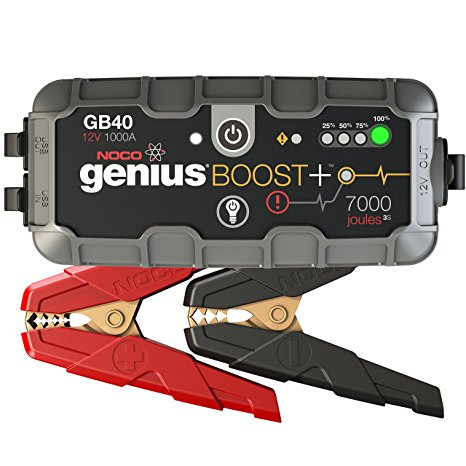 5. NOCO GB40 UltraSafe Lithium Jump Starter Review